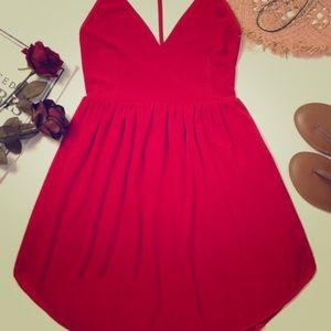 Beautiful Bohemian Red Dress